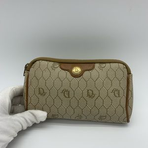 Dior vintage cosmetics pouch